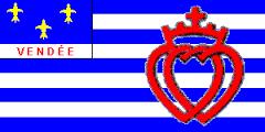 Drapeau de la Vendée