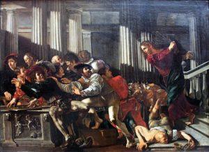 Jésus et les changeurs