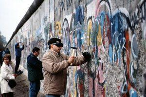 le mur de Berlin comme limite