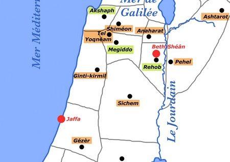 De Jérusalem à la Galilée