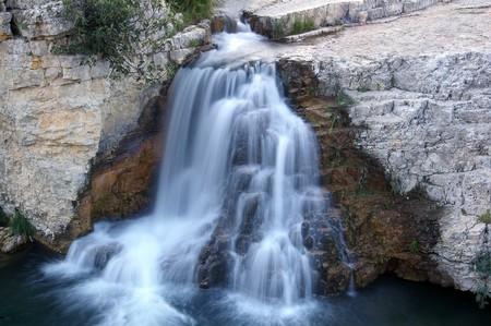 eau jaillissante