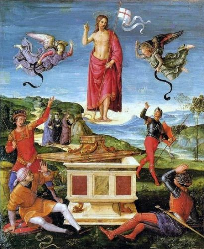 Ascension par Raphael