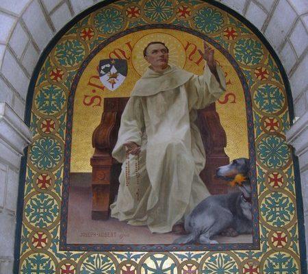 Frère Dominique, basilique saint-Etienne, Jérusalem